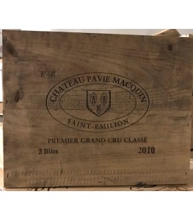 Pavie Macquin 2010 - CBO (3 x 75 cl)